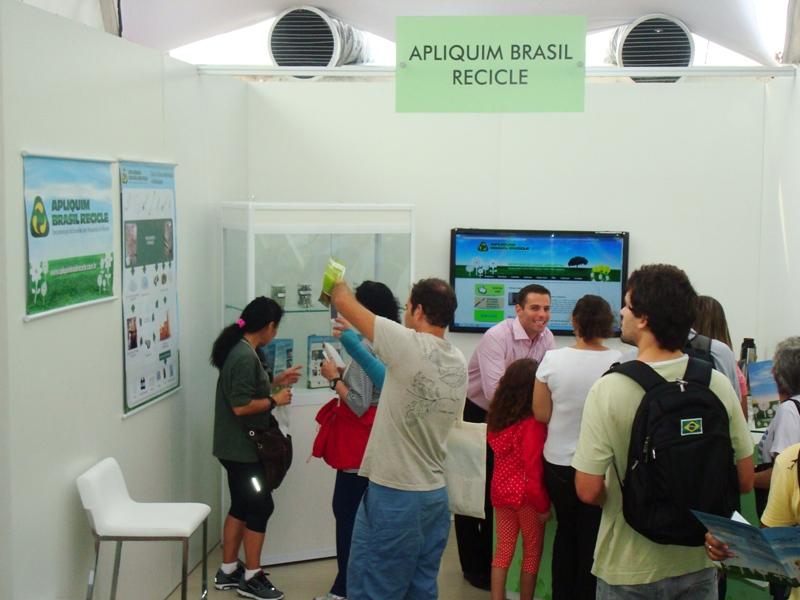Apliquim Brasil Recicle marca presença na Rio + 20