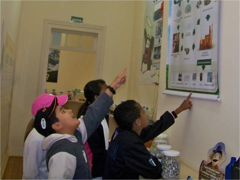 Centro de Educação Ambiental expõe materiais da Apliquim Brasil Recicle