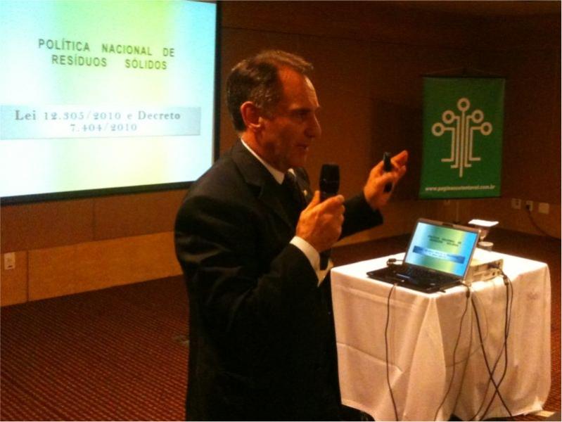 Apliquim Brasil Recicle na 2ª Conferência de Gerenciamento de Resíduos e Efluentes