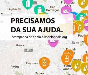 Apliquim Brasil Recicle apoia a Reciclopédia.org e busca novos pontos de coleta de lâmpadas