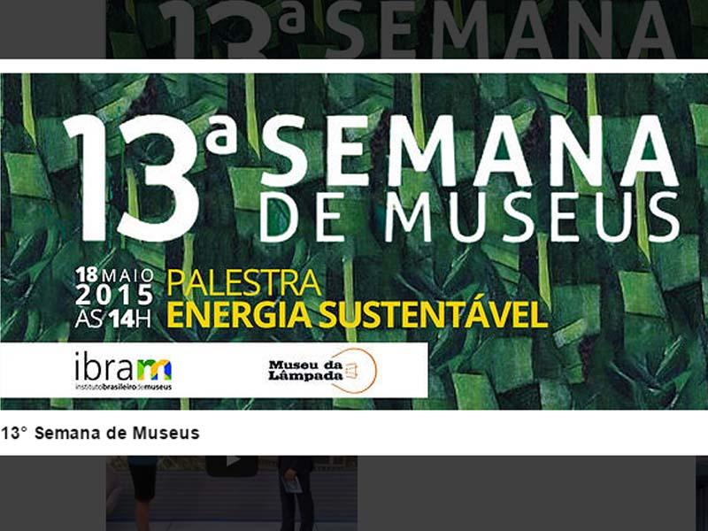 ABR participa da 13 a Semana de Museus