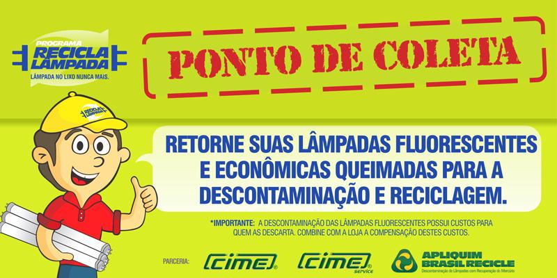 Programa Recicla Lâmpada garante descarte ecológico em São Paulo