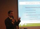 Diretor da Apliquim Brasil Recicle fala sobre gestão de lâmpadas com mercúrio em evento no Uruguai