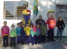 """Mascote """"Reciclito"""" ensina as crianças sobre preservação do meio ambiente"""